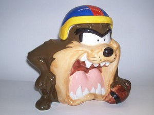 Tasmanian Devil Cookie Jar
