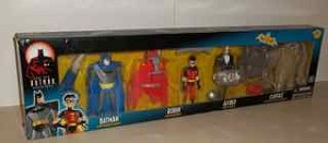The New Batman Adventures with Batman, Robin, Alfred and Clayface