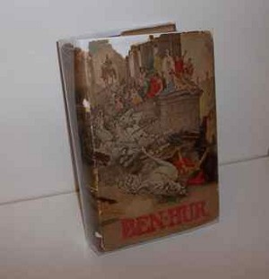 Vintage edition of Ben Hur with dust jacket