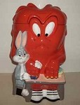 Rare Warner Brothers Looney Tunes Gossamer Cookie Jar MIB