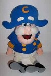 Vintage Cap'n Crunch stuffed advertising doll