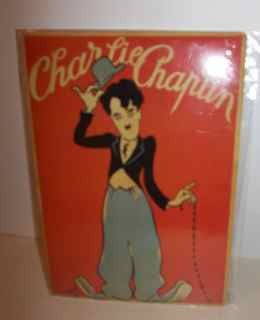 Charlie Chaplin Red Movie Poster tin sign