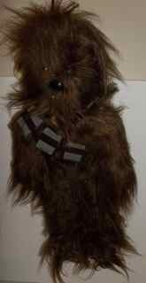 Star Wars Chewbacca plush doll 1977 Kenner