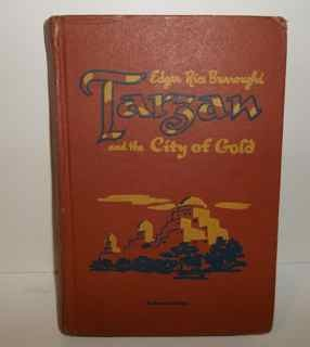 Tarzan and the City of Gold - Edgar Rice Burroughs