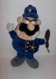 Vintage Officer Krum plush doll from Cookie Crisp cereal
