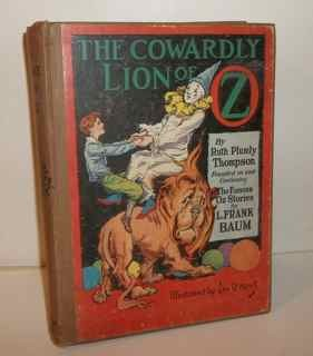 The Cowardly Lion of Oz, 1923 edition