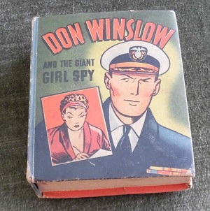 BLB #1408 - Don Winslow and the Giant Girl Spy