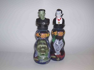 Frankenstein and Dracula drinks
