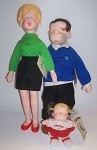 Hi and Lois doll set