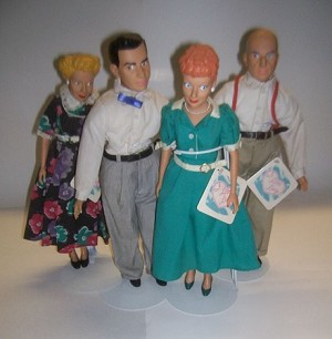 I Love Lucy Doll Set