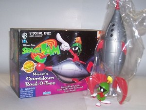 Marvin Martian Countdown Rock-o-Tron from 1993 Space Jam