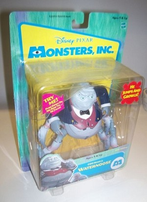 Monsters Spider Waternoose Action Figure