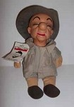 Mr. Magoo Character Doll dressed in Safari Suit