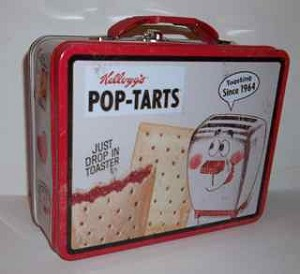 Kellogg's Pop Tart Lunch Box featuring Milton the Toaster