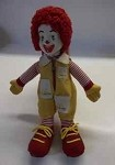 Vintage Ronald McDonald's advertising doll
