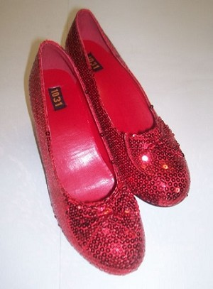 Wizard of Oz Ruby Red Slippers