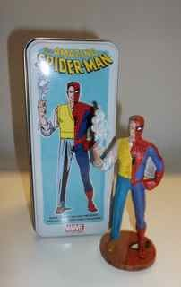 Spiderman /Peter Parker Syrocco Limited Edition Figure from the 2011 San Diego ComicCon