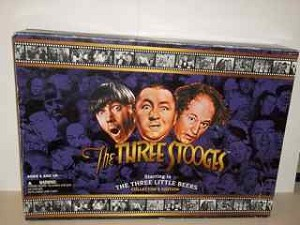 The Three Stooges starring in the Three Little Beers figure set