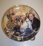 The Three Stooges plate