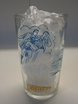 Vintage Polaner Superman Jelly Glass