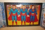 The History of Superman Set with Three Dolls from different eras