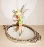 Peter Pan Tinker Bell With Mirror Pauses To Reflect (animator Choice), WDCC Disney Classics