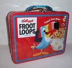Toucan Sam Fruit Loops Lunch Box