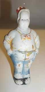 Gasoline Alley's Uncle Walt Japanese Bisque figure from 1930s