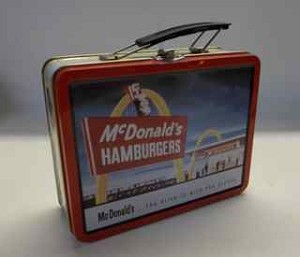 Vintage McDonald's lunchbox