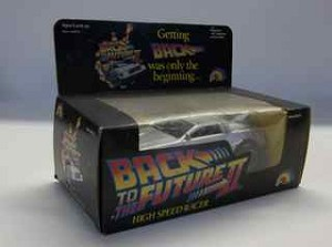 Vintage Back to the Future II DeLorean racer