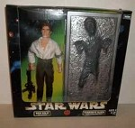 Star Wars Han Solo and Carbonite Block set